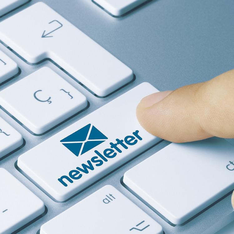 Anmeldung Newsletter Hechenblaickner