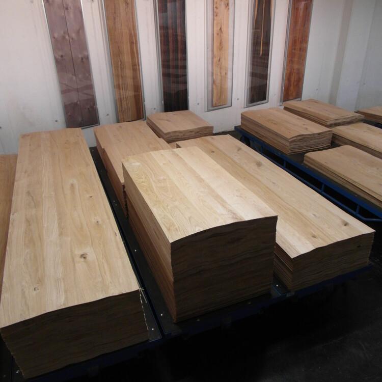 Veneer panels, standard sizes