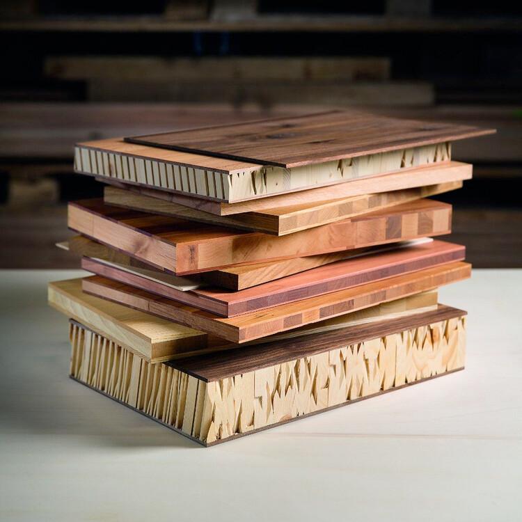 Alfa plošče iz lesa listavcev