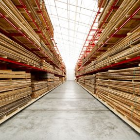 Timber warehouse