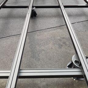 Aluminium substructure