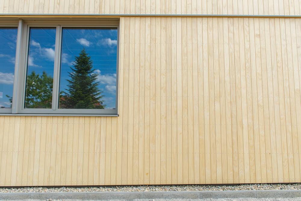 Accoya-Fassade LBS Eibiswald