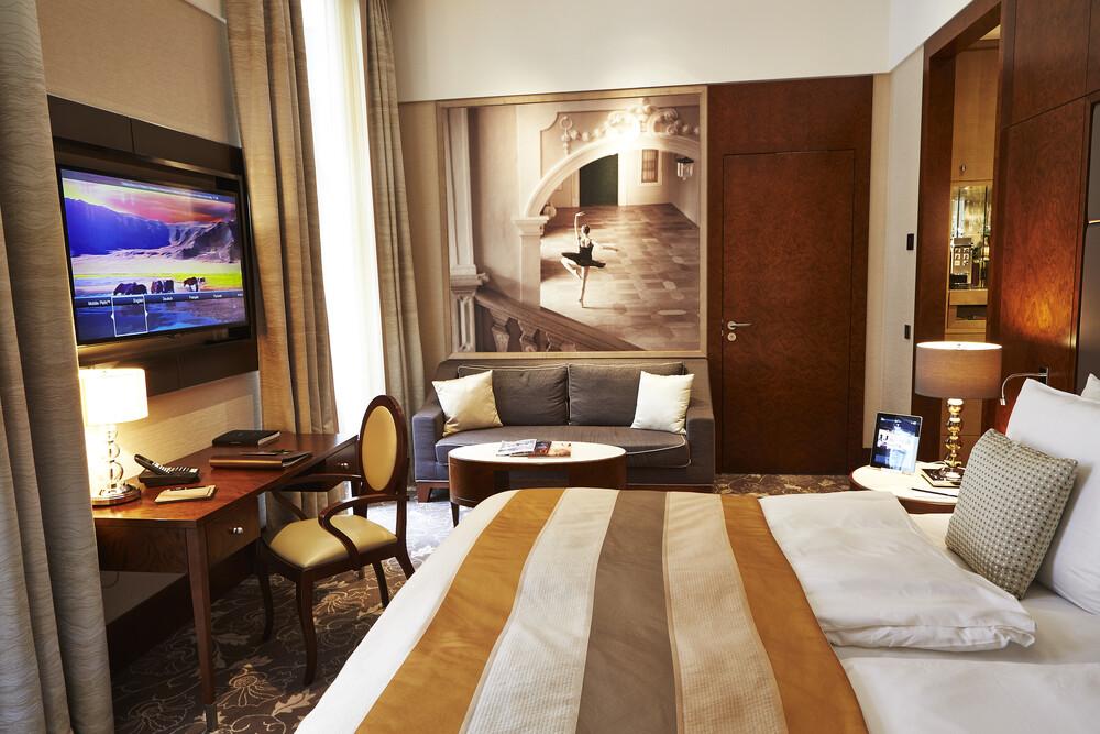 Kempinski Hotelzimmer Alpi Furnier
