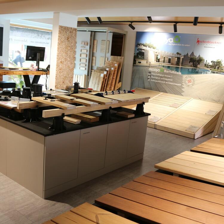 Terrassenholz, Wandverkleidungen aus Holz